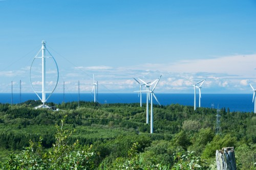quebec wind turbines vertical axis wind turbine