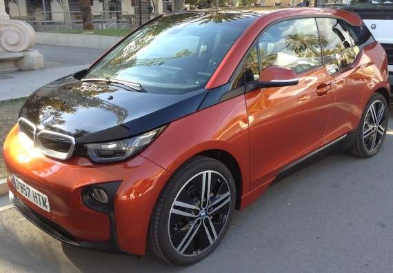 BMW i3 Barcelona Spain