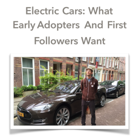 Electric Cars Early Adopters First Followers