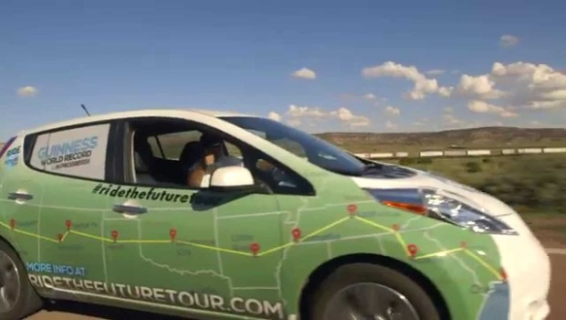 """""""Kick Gas"""" Following Four People Driving Electric Vehicles Across US (VIDEO)"""