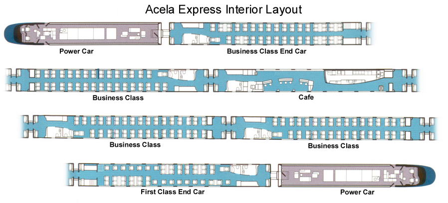 Amtrak Expands Fast East Coast Acela Fleet | CleanTechnica Pacific Railway Company