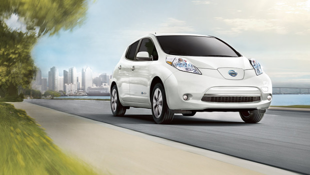 nissan leaf electric car attractions