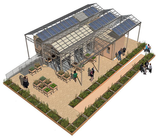 Solar decathlon 2015 u at buffalo grows solar house new for Solar decathlon 2015