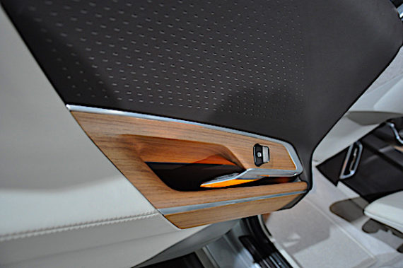 Lucid Motors Air door panel