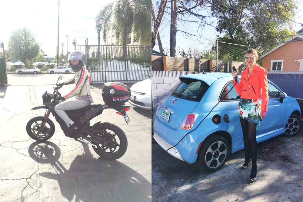 Fiat 500e Review From Biker Chick Cleantechnica