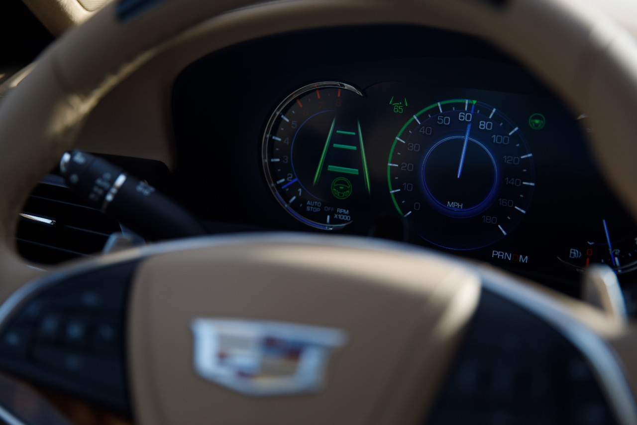2018 cadillac super cruise. modren 2018 on the driver and works with infrared lights to track head position  determine where is looking whenever super cruise in operationu201d to 2018 cadillac super cruise 6