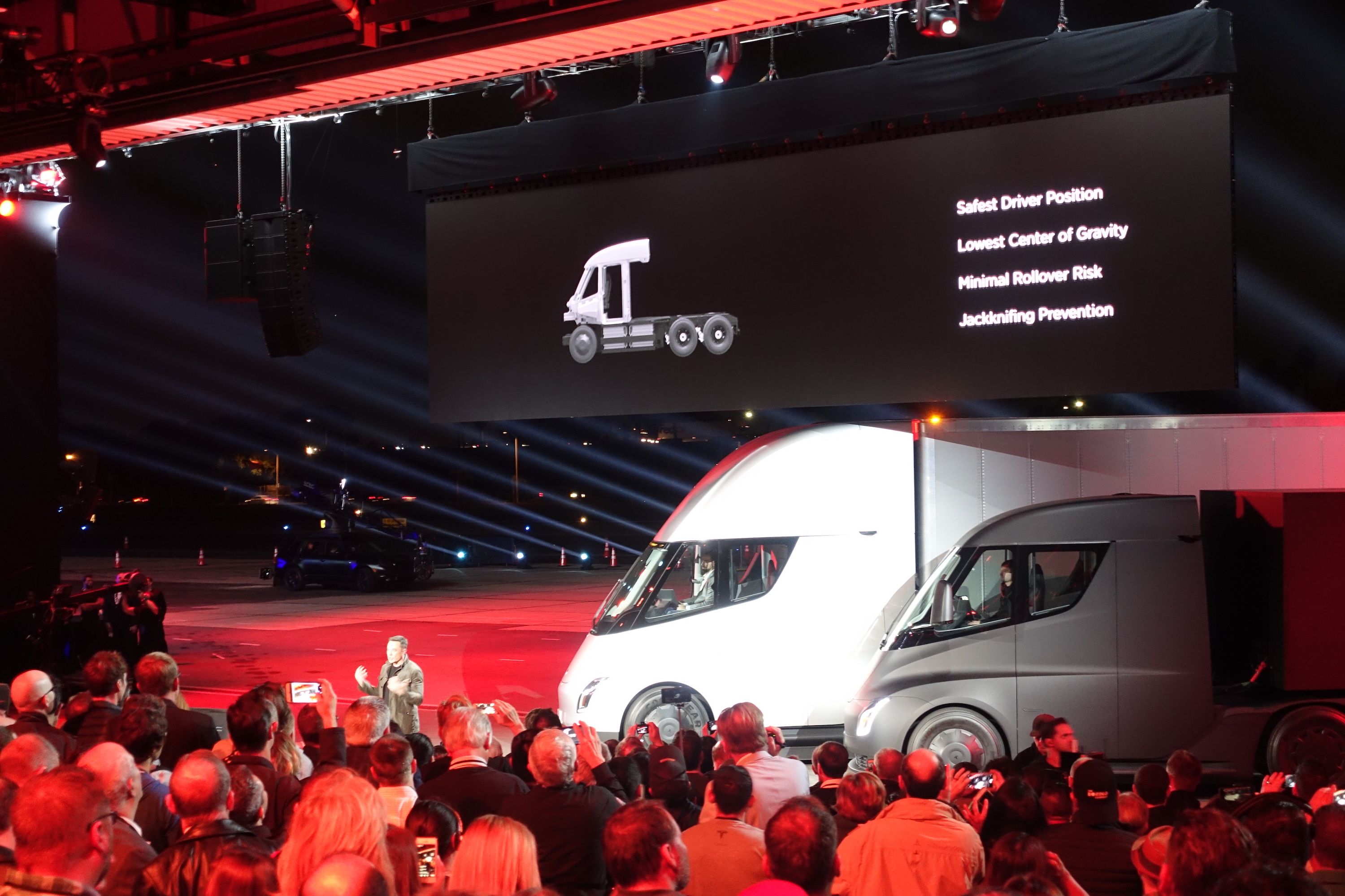 AB InBev has ordered 40 Tesla Semi electric trucks to deliver beer