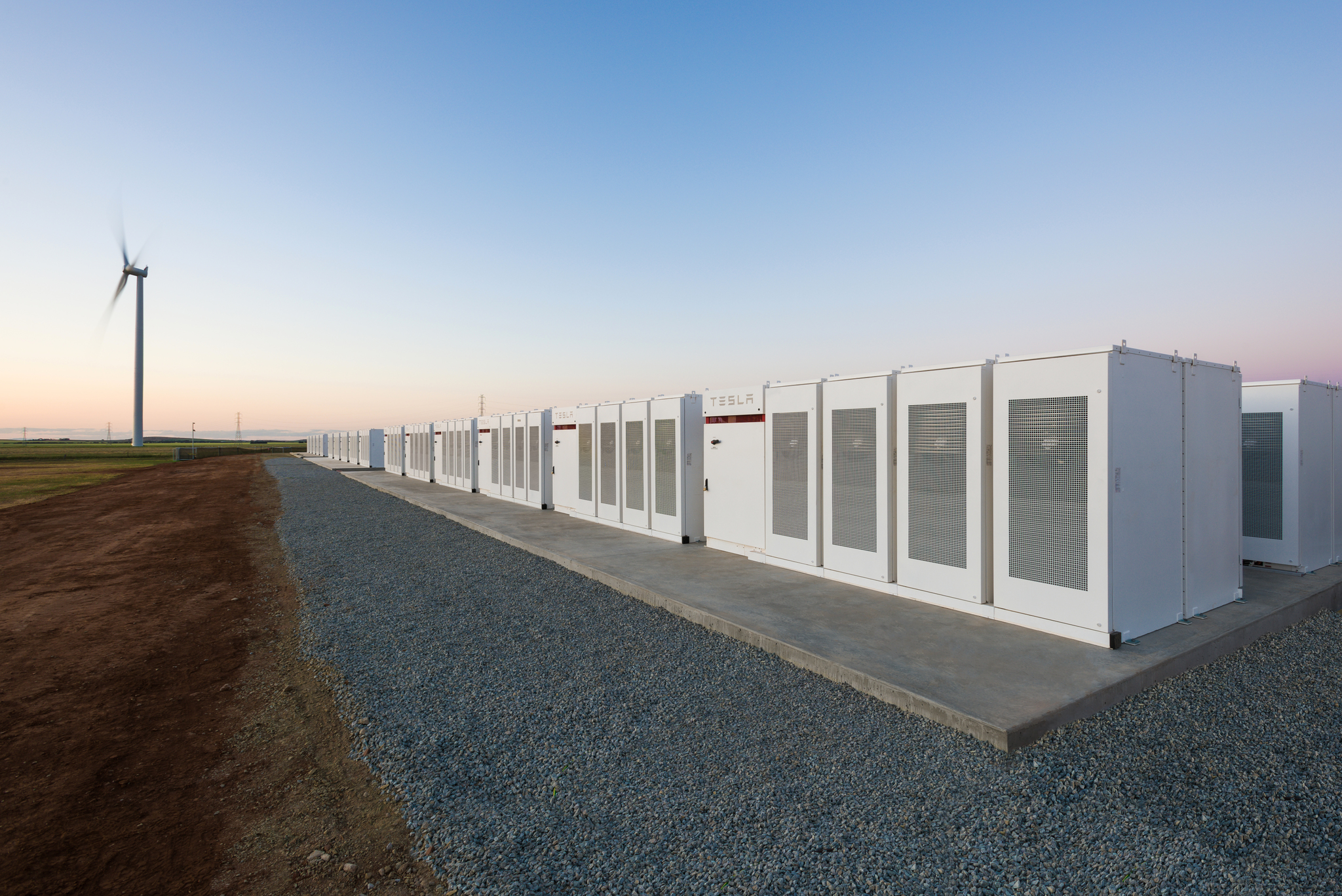 Tesla tests world's biggest battery