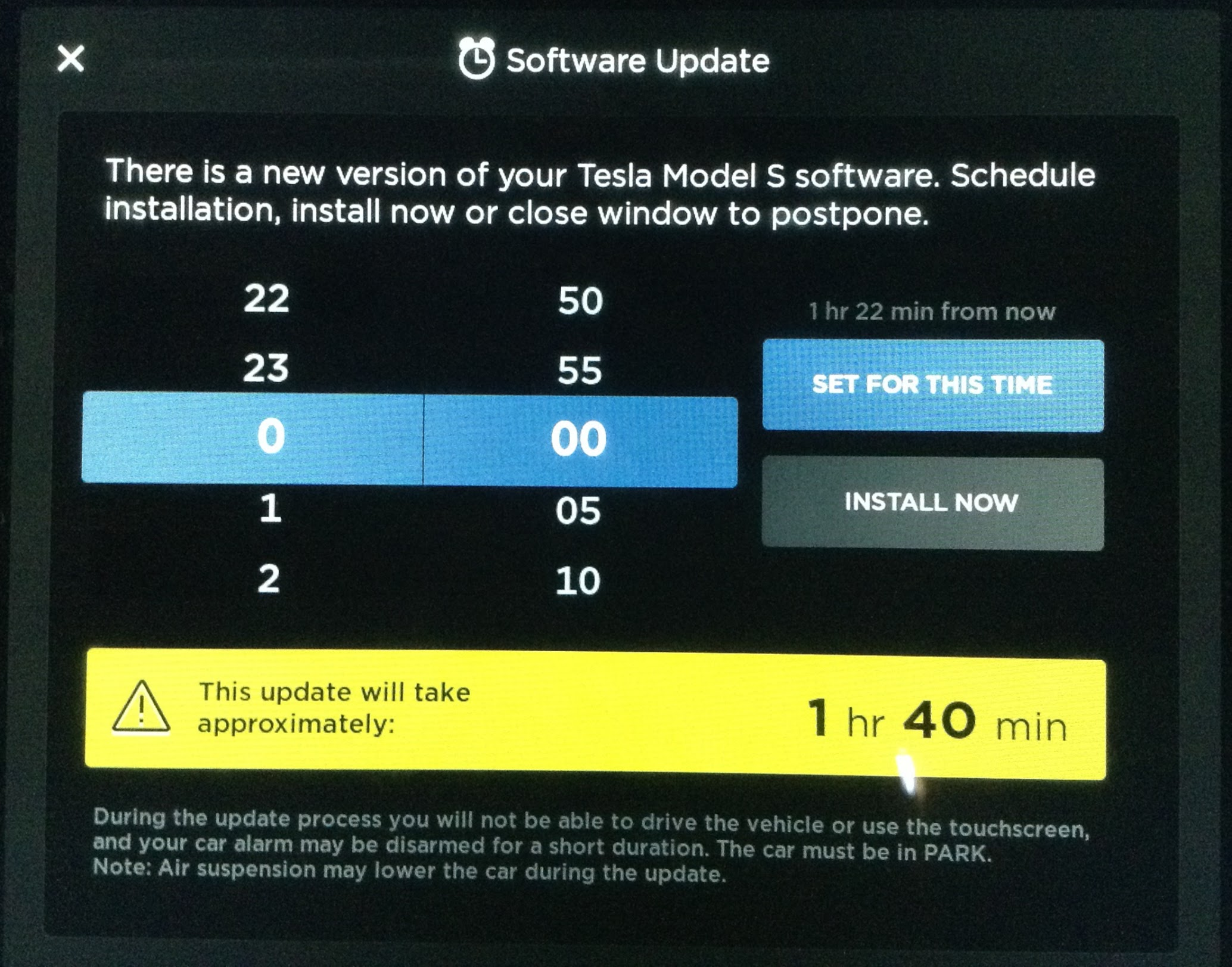 Tesla Update >> Teslas Are Freakin Computers 1st Software Update Notes Freakout