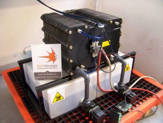 StorEn Technology's Vanadium Flow Battery Prototype Outpacing Expectations