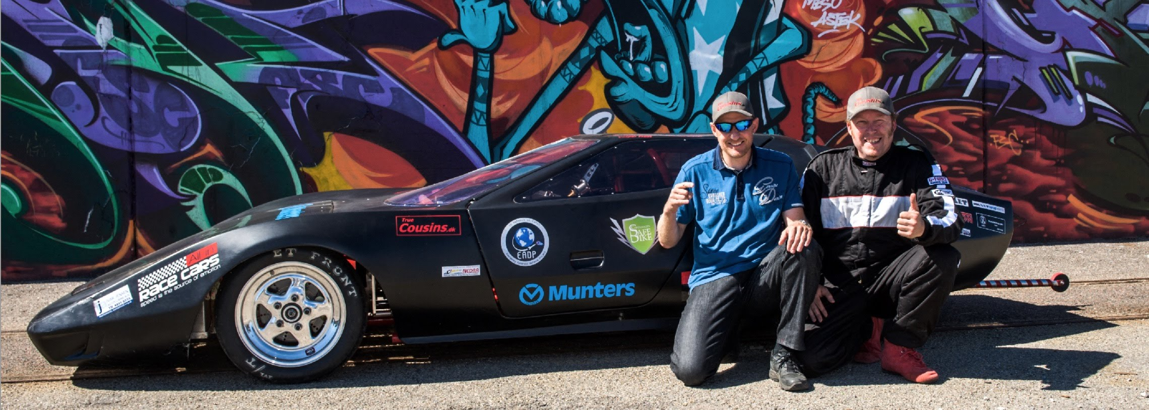 Electric Drag Racing With True Cousins — The Cars | CleanTechnica